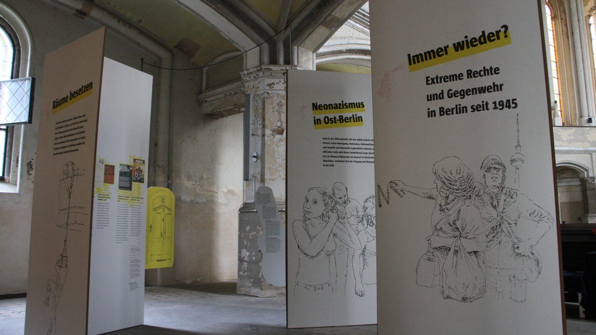 """""""Immer wieder"""" Ausstellung apabiz"""