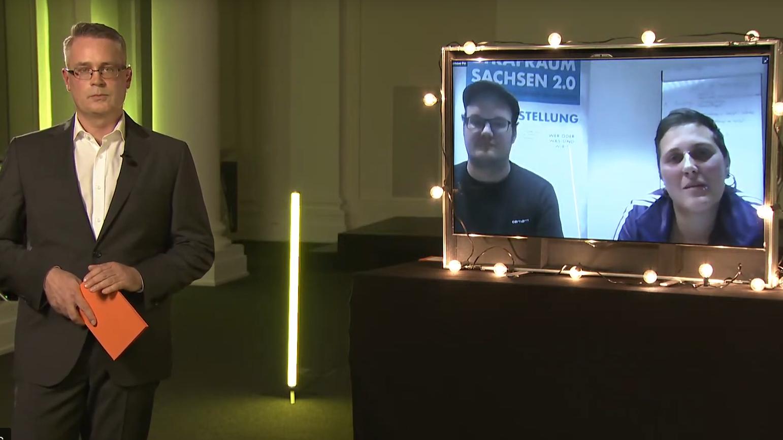 Digitaler Festakt Sächsischer Förderpreis für Demokratie 2020