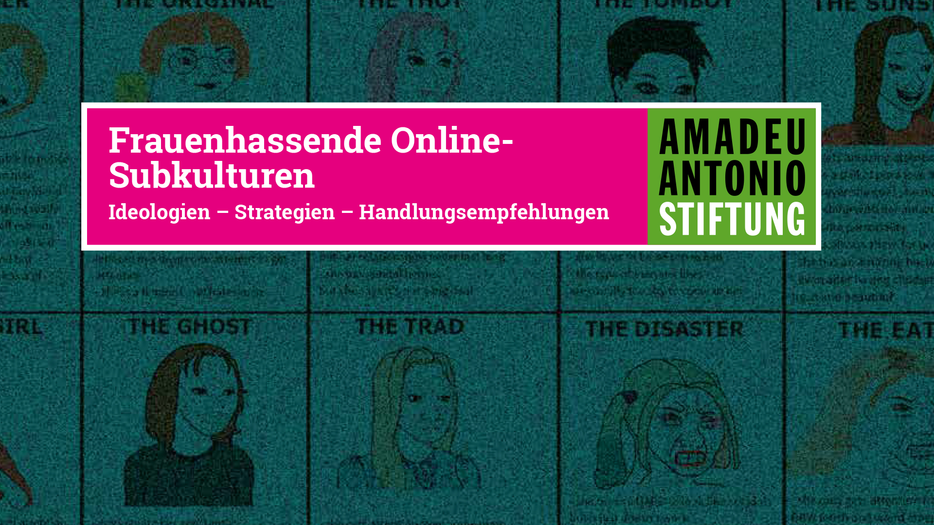 Frauenhass online Cover Website