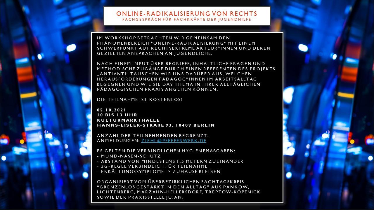 Online-Radikalisierung von rechts