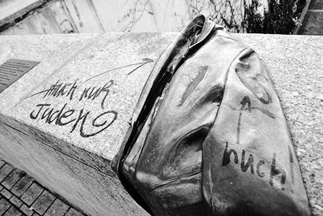 Chronik antisemitischer Vorfälle 2013 Wiwili_schmier