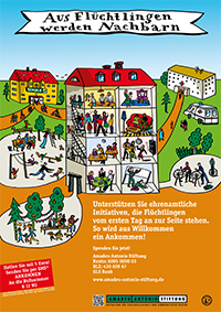 Aus Flüchtlingen werden Nachbarn ~ Amadeu Antonio Stiftung on